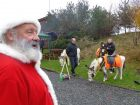 Santa stops by at Raywell to spread some festive cheer