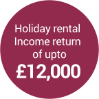 holiday rental income return